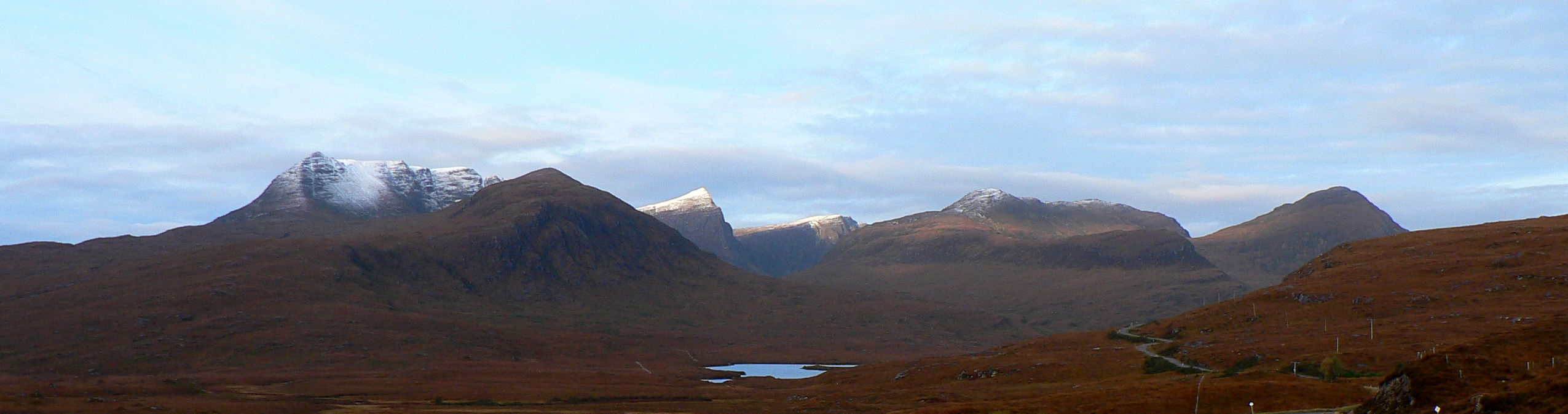 Coigach from the back